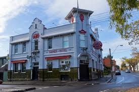 Napier Hotel home of the amazing and gut stretching Bogan Burger