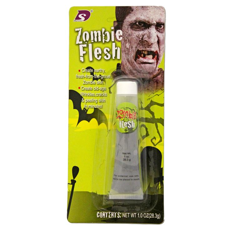 This zombie makeup set will be a hit at your next fancy dress or Halloween party.