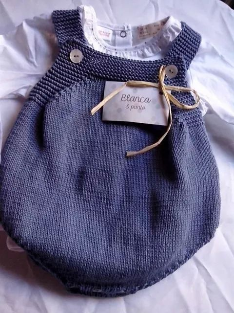 Navy blue bubble onesie ~~ Ranita en azul.