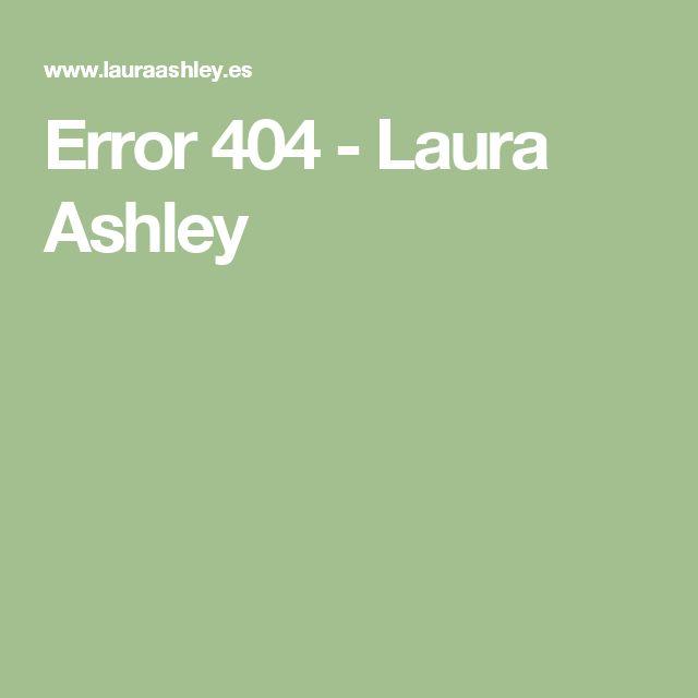 Error 404 - Laura Ashley