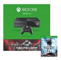 Xbox One 500GB Console Gears of War: Ultimate Edition Bundle with Star Wars: Battlefront
