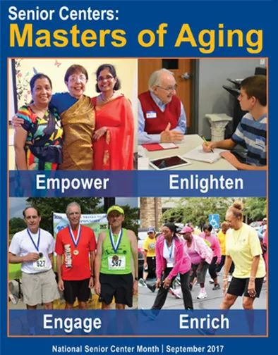 Senior Centers are the Masters of Aging. Celebrate the connections made during National Senior Center Month, learn more @NCOAging https://www.ncoa.org/national-institute-of-senior-centers/national-senior-center-month/