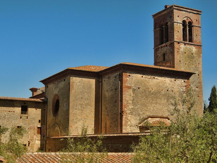 Sant' Anna in Camprena Abbey http://www.tuscanmuse.com/tuscan-jewels/sant-anna-in-camprena-abbey