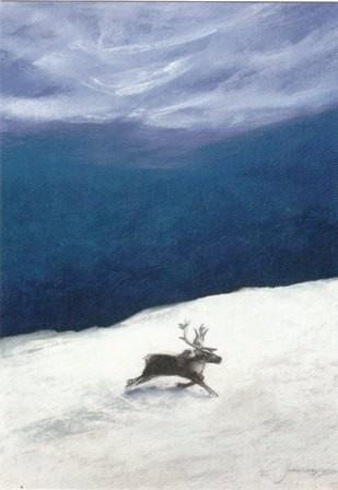 Het blauwe noorderlicht - Juke Hudig. Kaart
