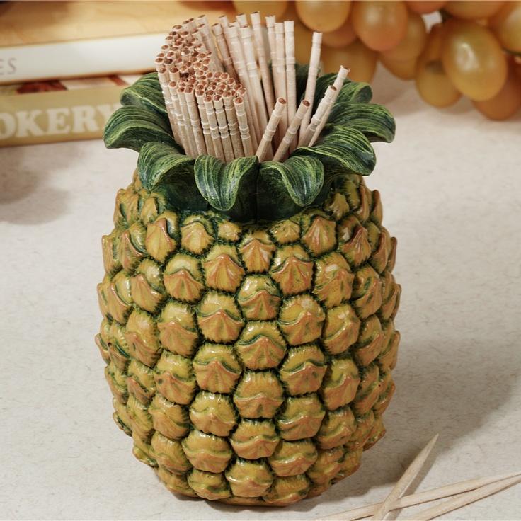 Pineapple Toothpick Holder