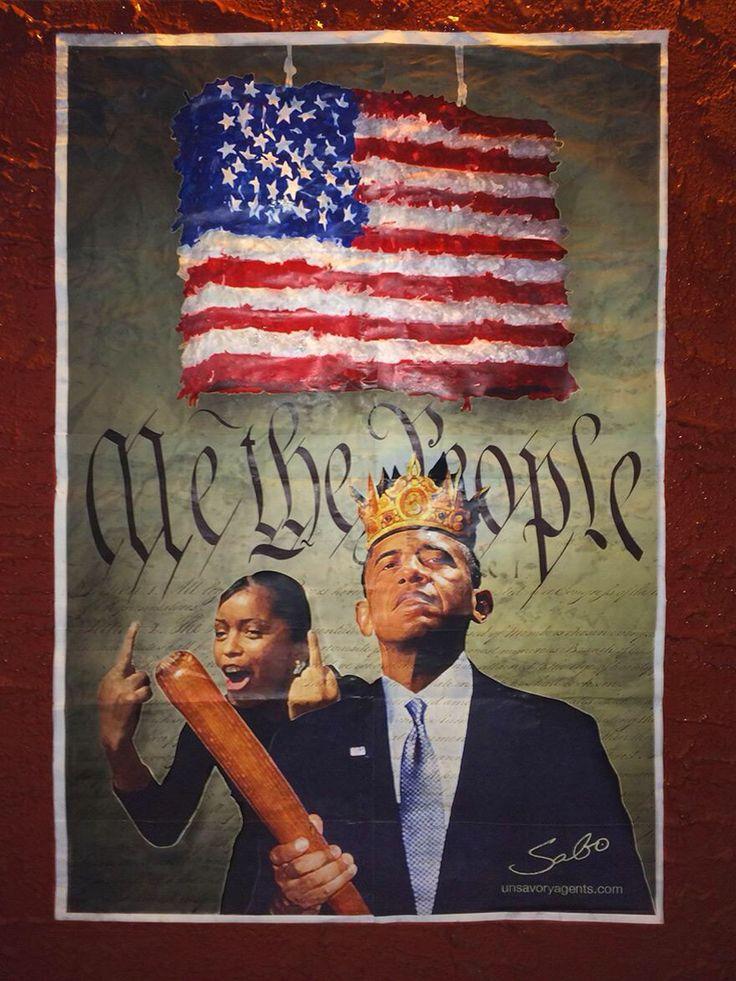 Obama's pineata. SABO