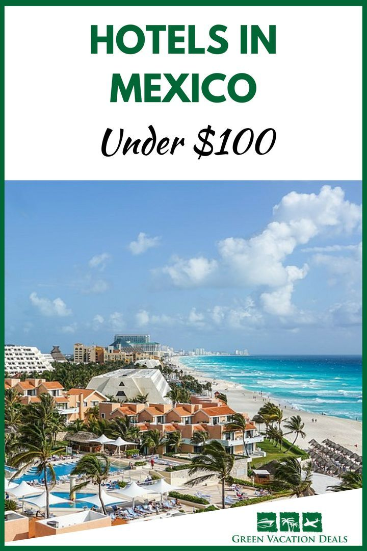 Looking for cheap hotels in Mexico? Check out these amazing hotel deals in Cancun & Playa del Carmen that are less than $100 a night! How to stay at a Mexico hotel for less. #BudgetTravel #MexicoBeach #Cancun #Mexico #VisitMexico