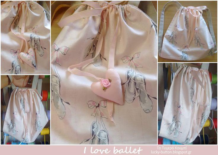 backpack for my ballet, σακίδιο για το μπαλέτο
