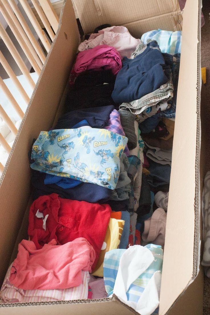 Our Laundry Experiment: Hiding Their Clothes | Essaie Blog