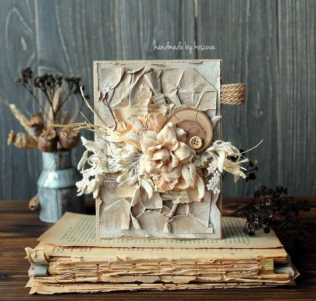 Материализация снов, Card with flowers
