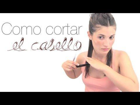Como cortar el cabello - YouTube