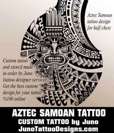 aztec tattoo, samoan tattoo, tribal tattoo, juno tattoo designs