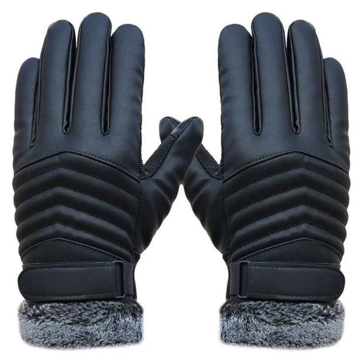Delicate Men Winter Gloves Men's Leather Gloves driving glove Slip Men Thermal Winter Sports Gloves nor5909