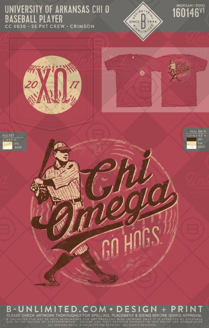 Baseball season will be here before you know! #greekshirts #greektshirts #greek #greektees #greeklife #sorority #chiomega #chio #XO #gameday #baseball #game #sports