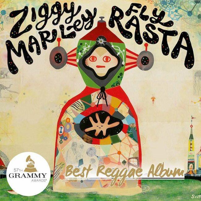 "Ziggy Marley's ""Fly Rasta"" wins the Reggae Grammy 2015"