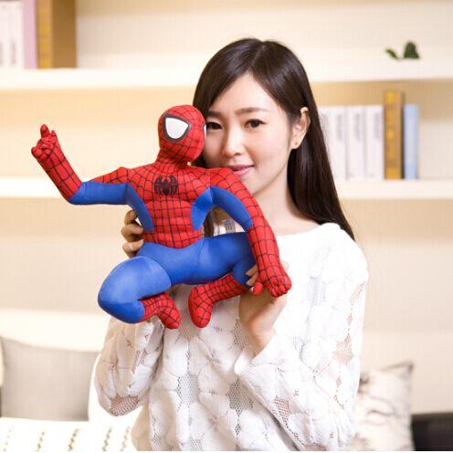 30cm 1Pcs High Quality Comics Item Spider-Man Spaider Man Movie Figure Soft Stuffed Spiderman Plush Toys Doll