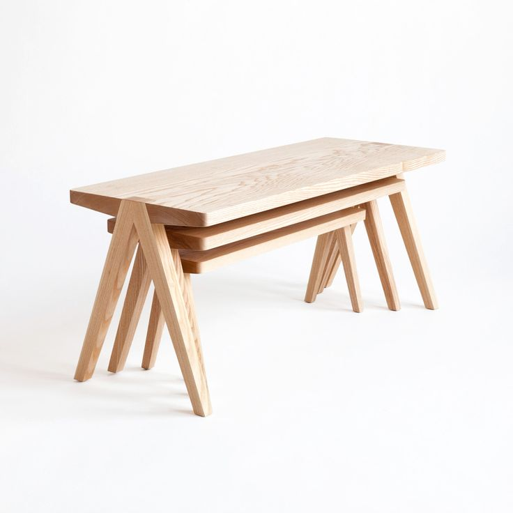 Summit Nesting Tables by Moving Mountains | very simple very clever