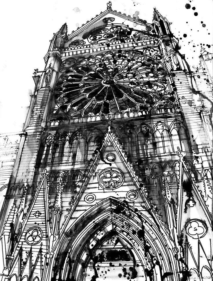 Notre Dame by takmaj.deviantart.com on @deviantART