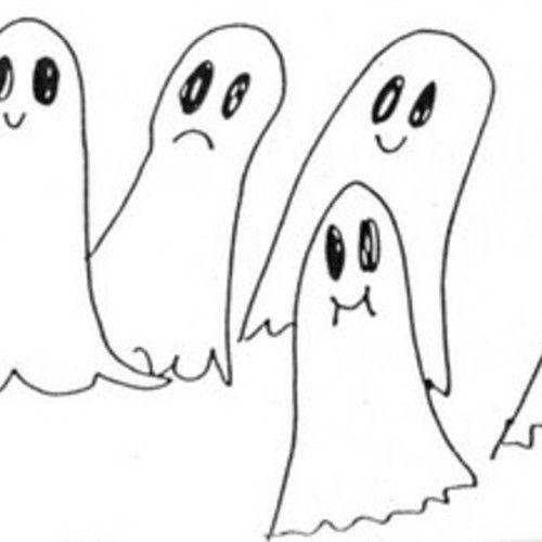 Por que ás pantasmas se lles representa con sabas brancas?