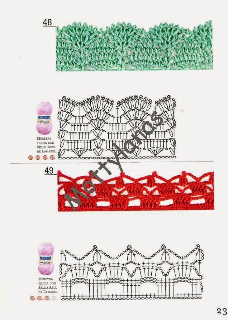 Tejer La Moda 108 - Bordes (11).jpg (732×1024)