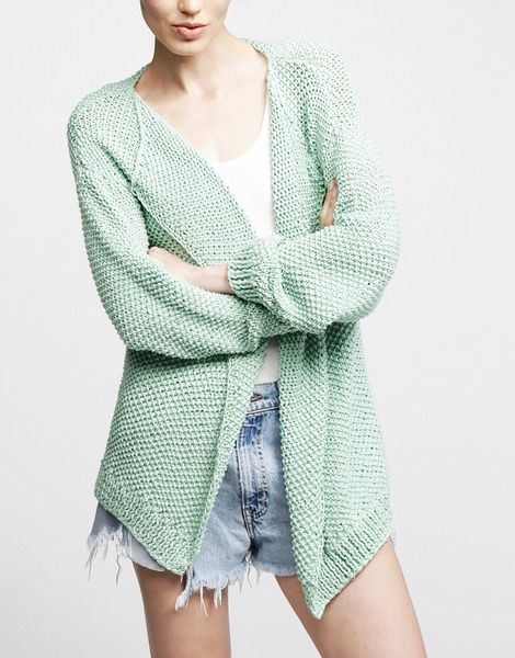 Jolie Mimi Cardigan by WATG, but with jeans
