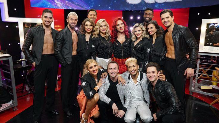 The cast of the #DWTS Light Up the Night Tour!  dwtstour.com