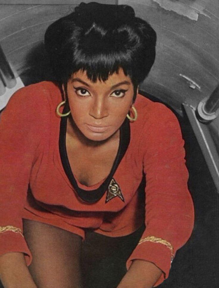 """Nichelle Nichols en """"Star Trek"""", 1966"""