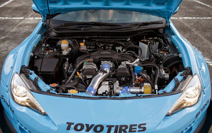 Под капотом Toyota GT86 Rocket Bunny v2