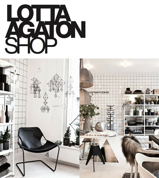 Interior Stylist Lotta Agaton's Shop :: Radmansgatan 7, Stockholm