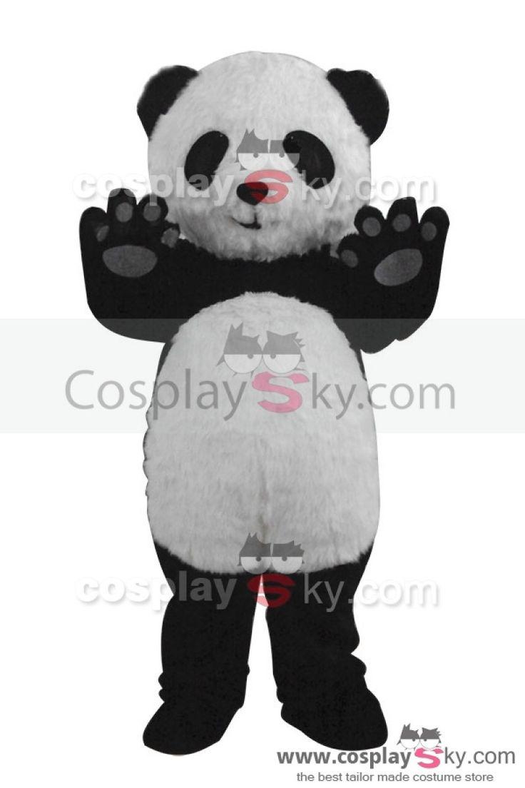 Panda Jingjing Mascotte Costume de Cosplay Taille d'Adulte ,fait sur mesure