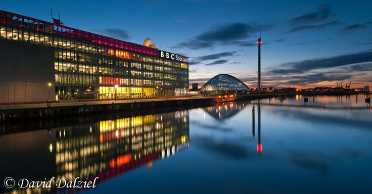 Colourful Clyde.  I adore this shot by David Dalziel. Amazing color!