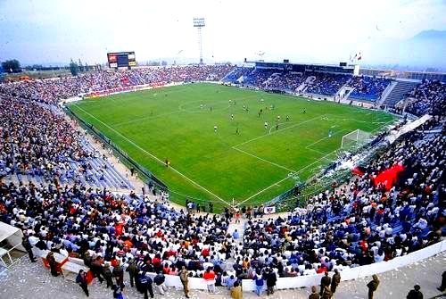 Estadio San Carlos de Apoquindo vista completa - UC - Chile