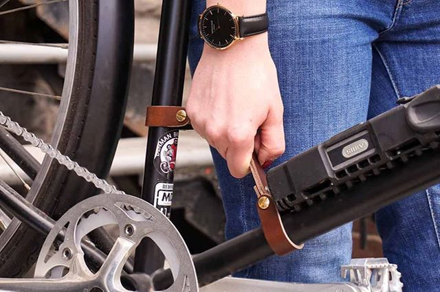 The Bike Handle Makes It Easy To Carry Your Bike Up The Stairs It