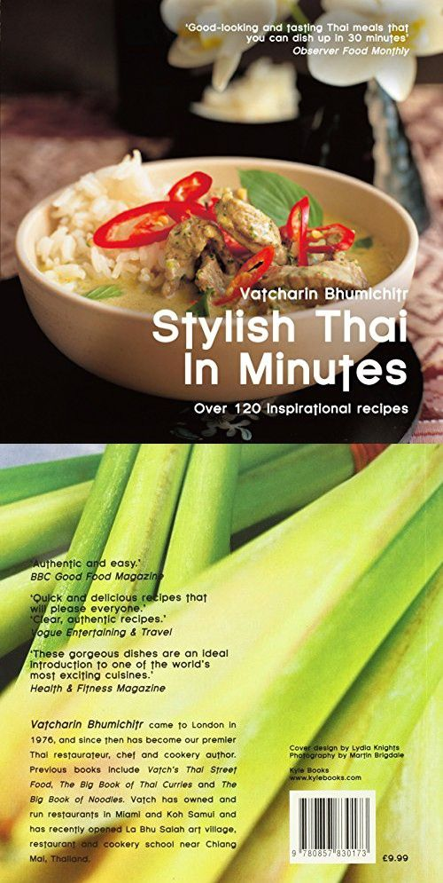 221 best thai cooking food wine images on pinterest stylish thai in minutes over 120 inspirational recipes easy eat series forumfinder Images