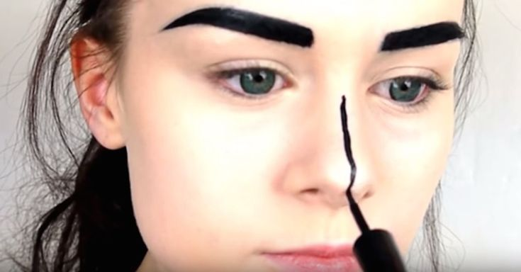 Tutorial Teaches You To Do Your Makeup Like A Comic Book Character via LittleThings.com