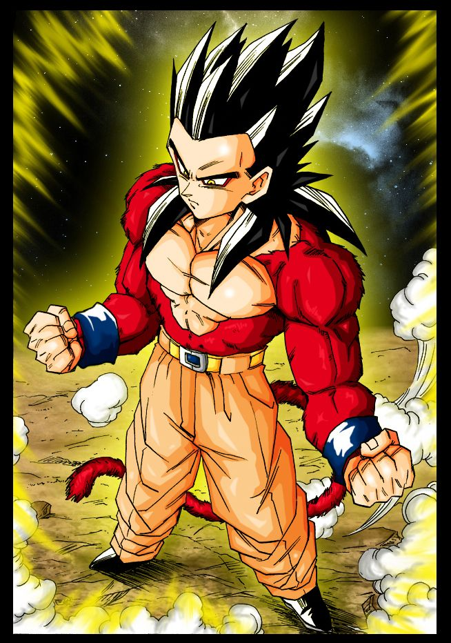 Gohan Super Sayan 4 by Trunks777.deviantart.com on @DeviantArt