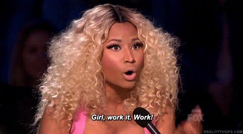 When she encouraged you to do your thing. | 19 Times Nicki Minaj Was Right About Everything Ever