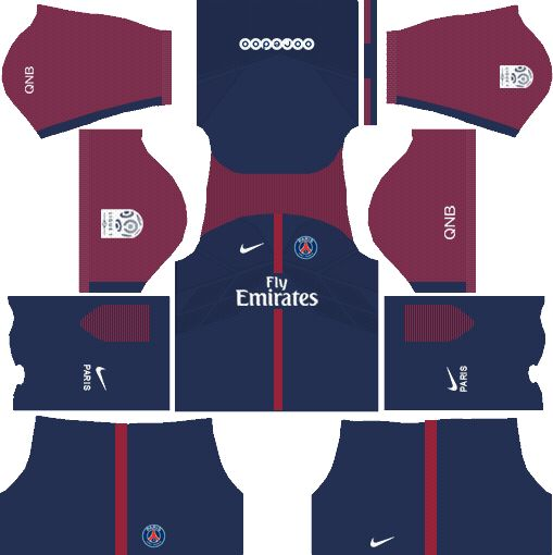 7d6490023fe Get the URL to download and import the dream league #soccer (DLS) PSG kits  2017-18. | Soccer is Awesome | Soccer kits, Soccer, Psg