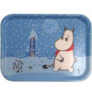 Moomin Tray: Snow