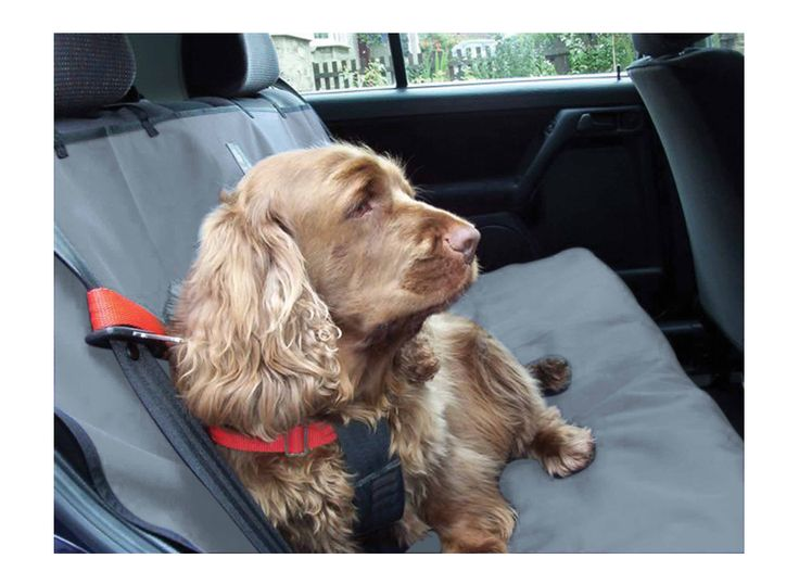 Dog Car Seat Cover - Waterproof from Danish Design - Muddy Paws