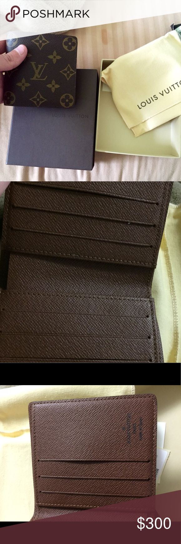 Louis Vuitton men's wallet Brand new never used asking 300 Bags Wallets