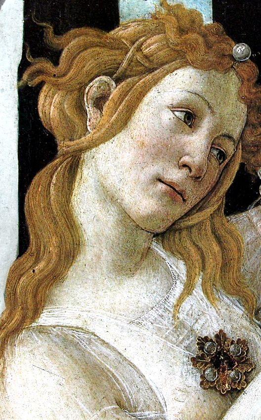 Sandro Botticelli - Renaissance - Primavera (detail) ══════════════════════  BIJOUX  DE GABY-FEERIE   ☞ http://gabyfeeriefr.tumblr.com/ ✏✏✏✏✏✏✏✏✏✏✏✏✏✏✏✏ ARTS ET PEINTURES - ARTS AND PAINTINGS  ☞ https://fr.pinterest.com/JeanfbJf/artistes-peintres-painters/ ══════════════════════