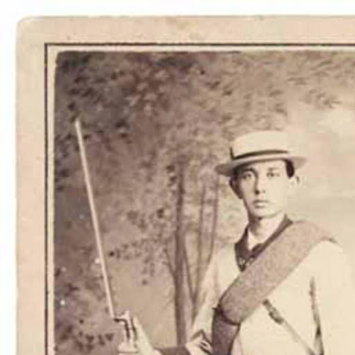 Cuba. Guerra. 1898. Soldado español en Cuba. :: Fototeca canario-americana