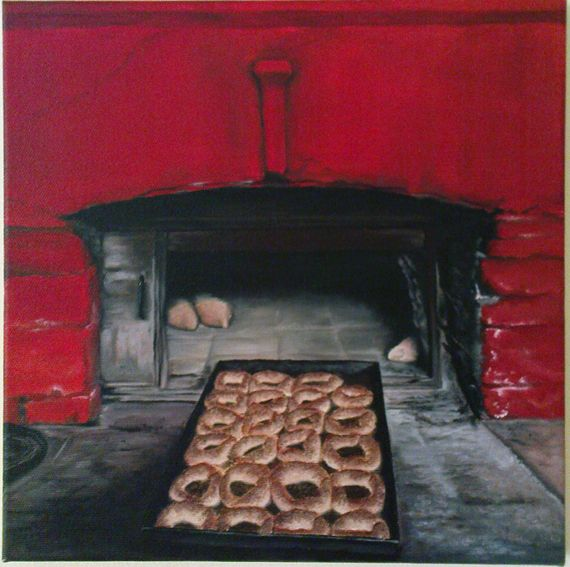 traditional oven 30X30