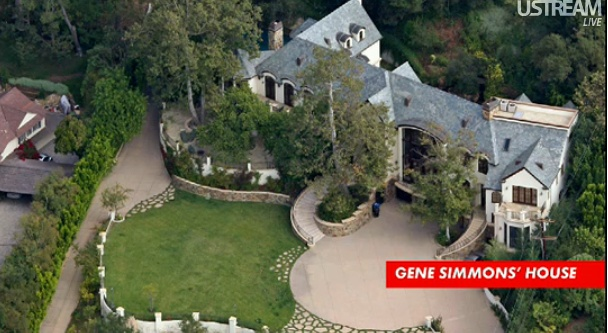 Gene Simmons House | Everything Fun on Ustream | Pinterest