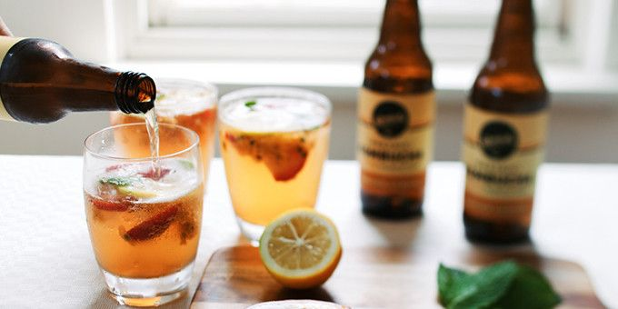 I Quit Sugar - Is this the healthiest cocktail ever? Sugar-free Kombucha Mule