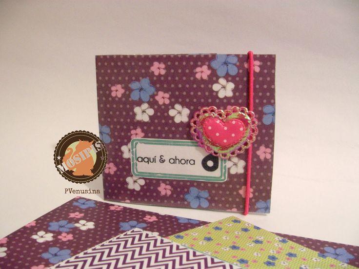 Cartera - Colección: Shabby Chris - Hoja: Flores