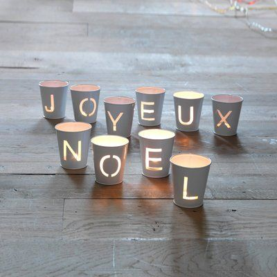 french christmas candles