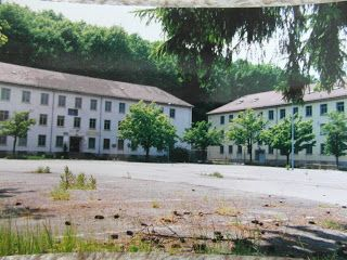 A-Schnitzel-and-a-glass-of wine: Former Canadian Military Kaserne in Lahr in 1994