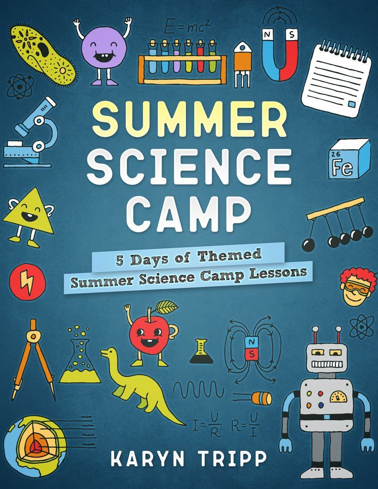 Science summer camp- 5 days of themed lessons to plan your own science camp!  via @karyntripp